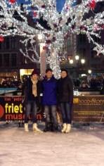 Ice Skating in Bruges