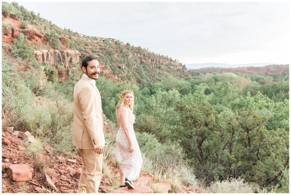 Boho Butterfly Sedona Wedding Inspiration By Kaci Lou Photography