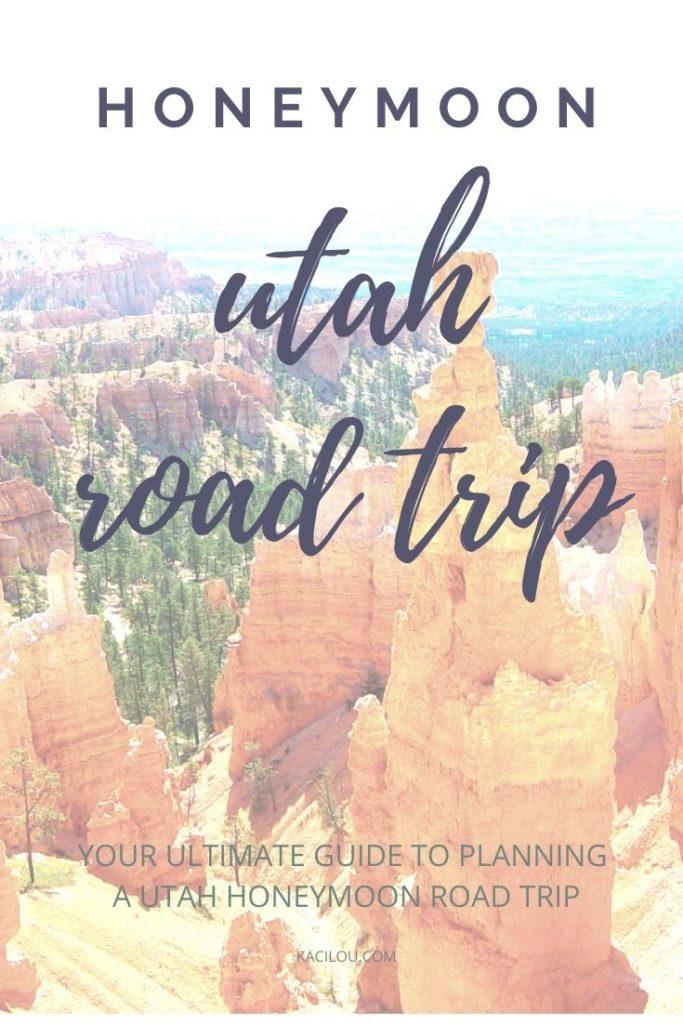 Honeymoon Utah Road Trip Guide - Bryce Canyon Photo