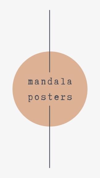 Mandala Posters