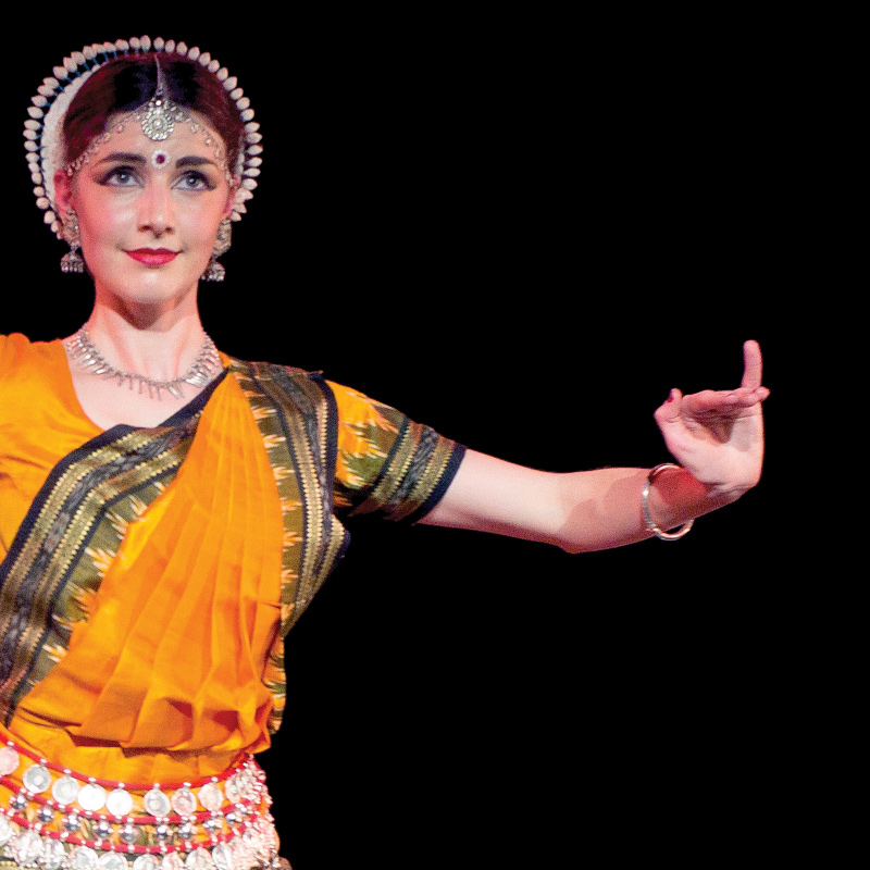 Odissi Dancer - Katie Ryan