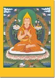 Je Tsongkhapa and Geshe Kelsang Gyatso