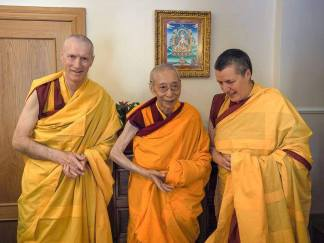 Geshe-la and Gen-las
