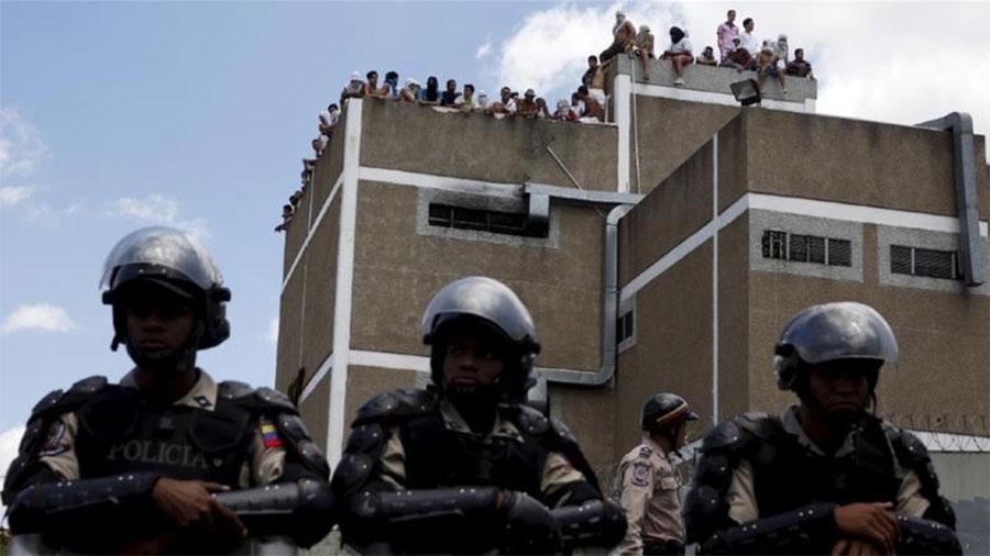 भेनजुयलाका जेलमा झडप ६० को मृत्यु