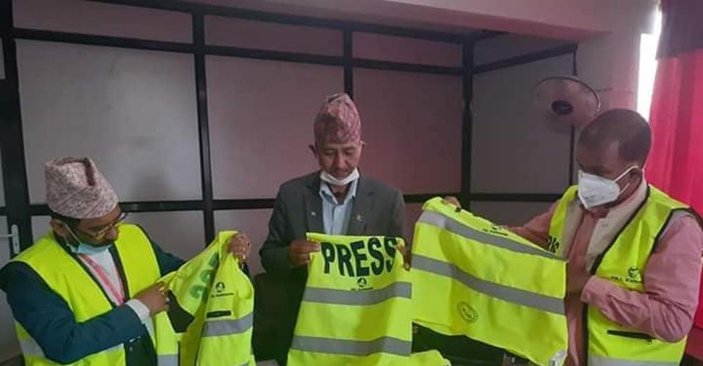 महासंघकै भूतपूर्व अध्यक्षद्धारा काठमाण्डौ शाखाको लोगो दुरुपयोग गरी प्रेस ज्याकेट छपाई