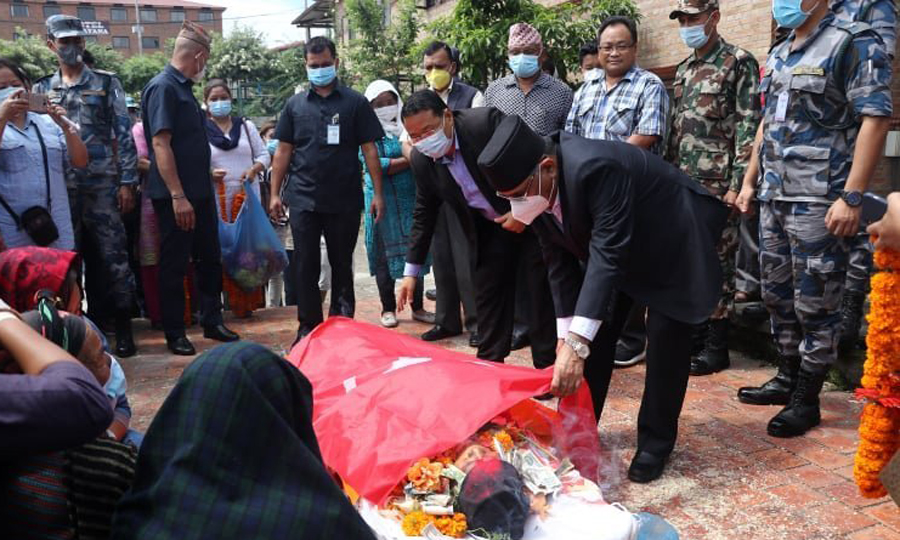 कम्युनिष्ट योद्धा बर्मन बुढाको निधन