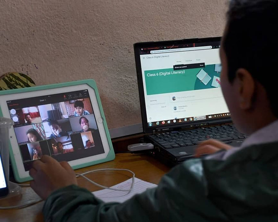 How is the Online Class in Nepal?