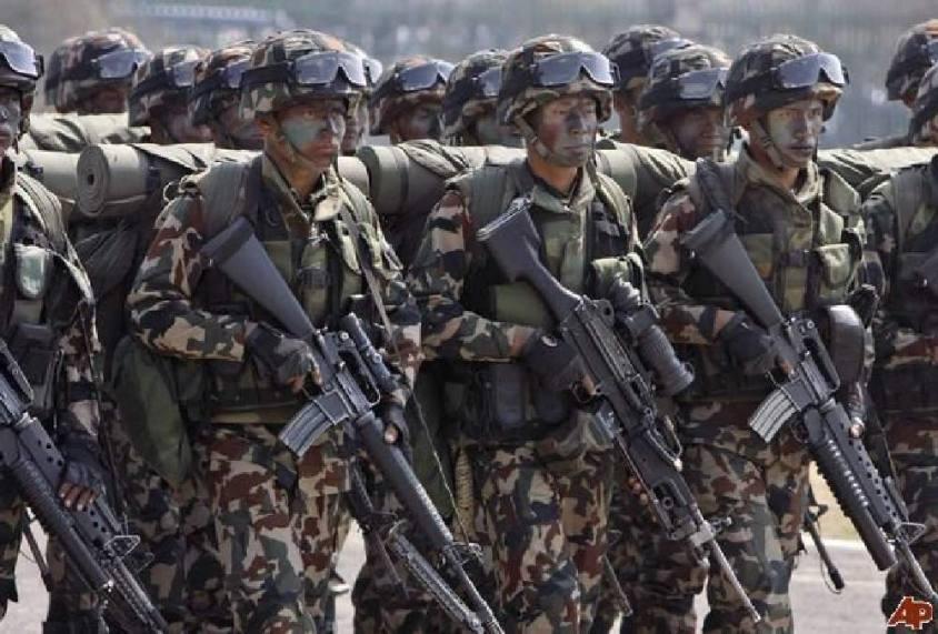 अन्तराष्ट्रिय सीमा सुरक्षामा सेना खटाउने सरकारको तयारी