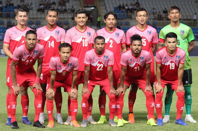 नेपाली फुटबल टिमको बिश्व कप प्रशिक्षण स्थगित