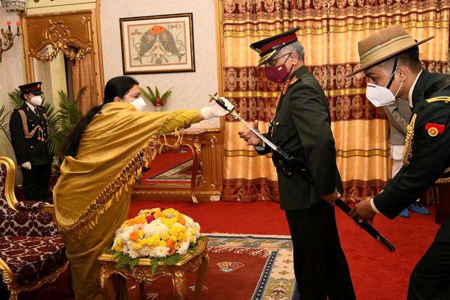 तीन दिने नेपाल भ्रमण सकेर भारतीय सेनाध्यक्ष आज स्वदेश फिर्ता