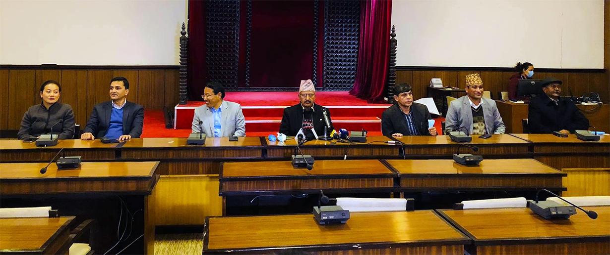 संसद विघटनको विरोधमा ७ मन्त्रीद्धारा सामूहिक राजीनामा