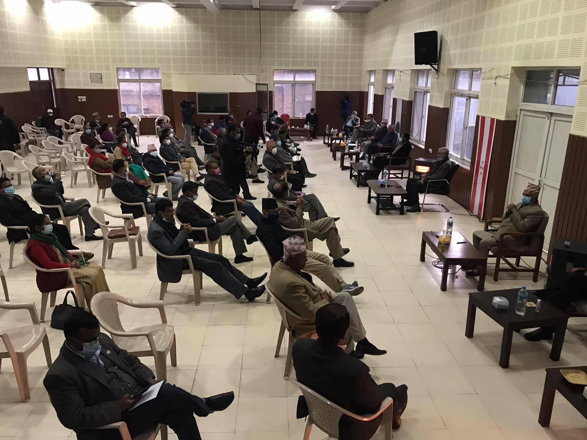 नेपाली काँग्रेसको केन्द्रीय समिति बैठक सानेपामा सुरु