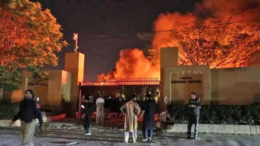 पाकिस्तानको क्वेटा शहरमा अवस्थित एक होटलमा विस्फाेट हुँदा कम्तीमा चार जनाको मृत्यु