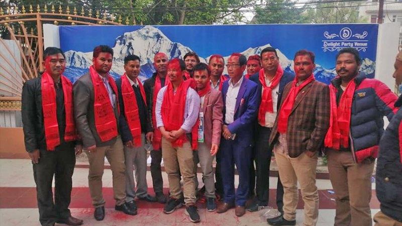 नेपाल पत्रकार महासंघ ललितपुरमा सागर न्यौपाने नेतृत्वको प्यानल नै विजयी