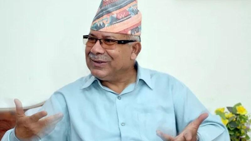माधवकुमार नेपालद्धारा अध्यक्ष केपी शर्मा ओलीमाथि पार्टी एकता भंग गर्न खोजेको आरोप
