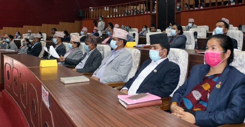 कर्णाली प्रदेश सरकारको आर्थिक वर्ष २०७८/०७९ को नीति तथा कार्यक्रम प्रस्तुत