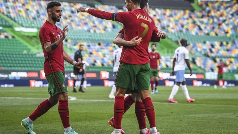 युरोकपको वार्मअप खेलमा इजरायलमाथि पोर्चुगलको सहज जित, रोनाल्डोको १ सय ४ गोल पुरा