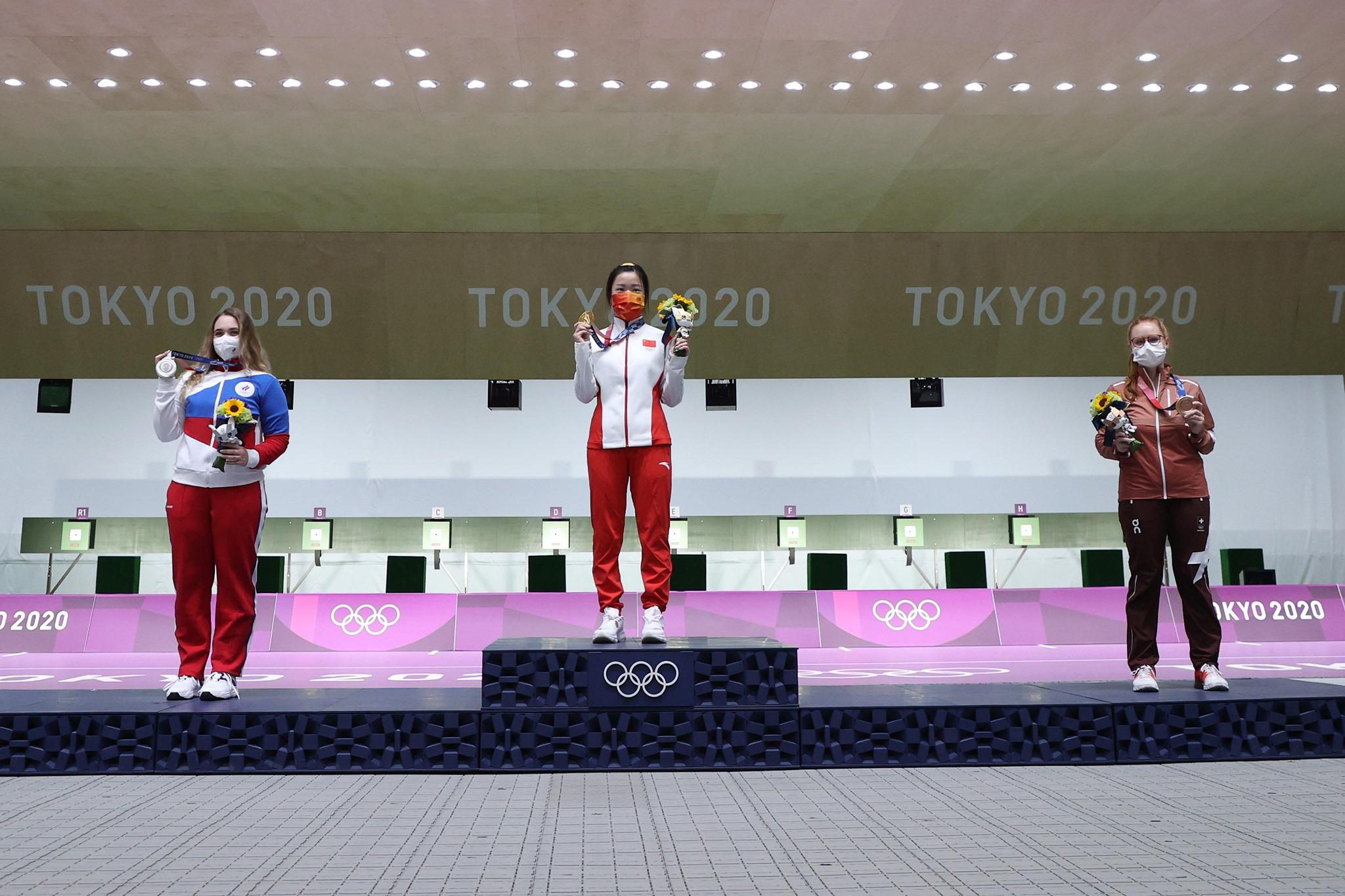 टोकियो जारी ओलम्पिकमा चीनले सर्वाधिक ३ स्वर्ण र १ कास्यसहित शिर्ष स्थानमा