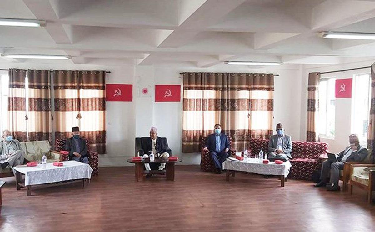 नेकपा एमाले केन्द्रीय कमिटीको बैठक बिहान ११ बजे बस्दै