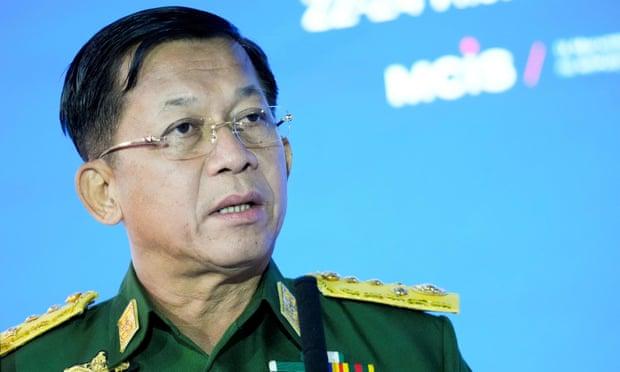 कूमार्फत् सत्ता हत्याएका म्यानमारका सैनिक शासकले आफूलाई देशको प्रधानमन्त्री घोषणा