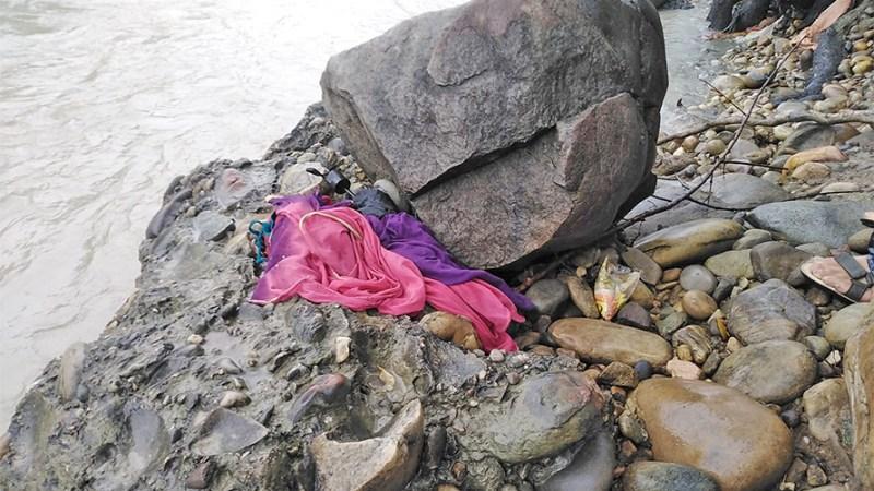 भेरि नदीमा हाम फालेर एक महिला वेपत्ता