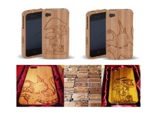 Red Panda iPhone 4 Bamboo Cases