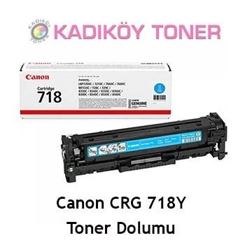 CANON CRG-718Y (CRG718) Laser Toner