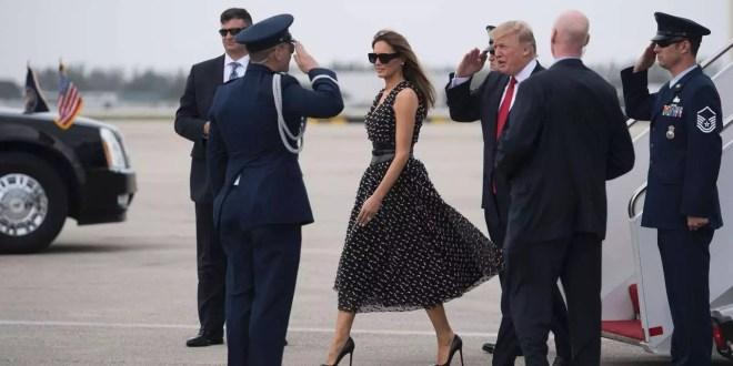 Melenia Trump Stili