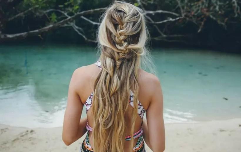 2018 plaj saçı trendleri