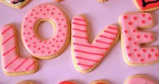 sevgililer günü kurabiyesi