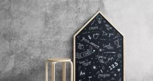 dekorasyonda kara tahta
