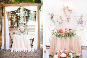 Düğün Masası Süsleme Fikirleri