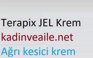 terapix jel krem nedir ve ne icin kullanilir terapix jel agri kesici krem