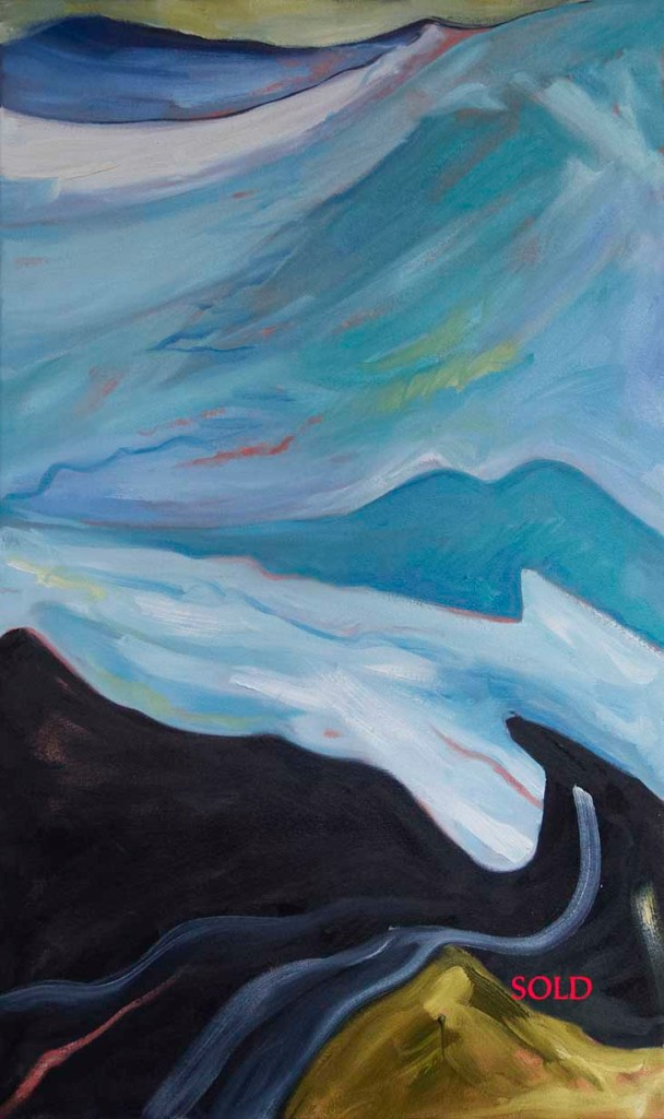 the_long_road_to_freedom,wall art,artist,kadira jennings,landscape painting,landscape pictures,landscapes,modern art,paintings