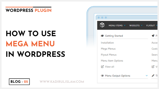How to add WordPress mega menu – 2020