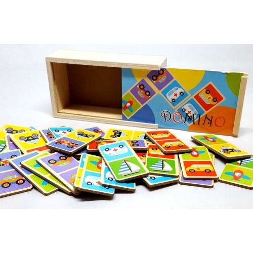 2-Play domino spel voertuigen