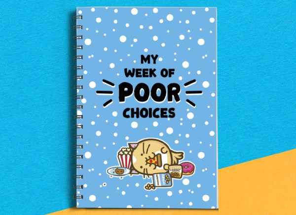 Fuzzballs Fuzzballs planner - My week of poor choices