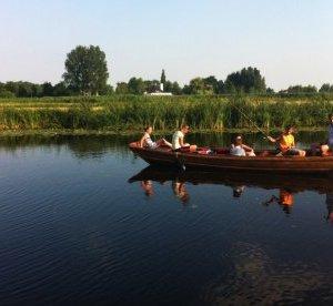 Varen in een fluisterboot