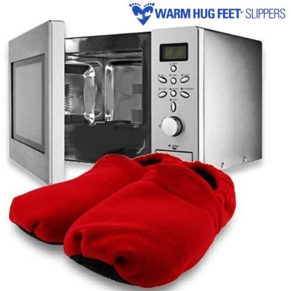 Warm Hug Feet Magnetron Slippers Rood