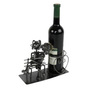 Wijnfleshouder Paar op bank