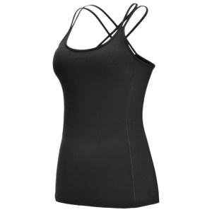 Women's Yoga Shirt Open Back Tops