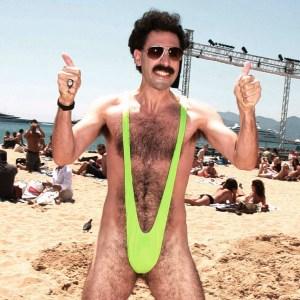 Borat mankini - Groen