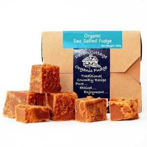 Devon Cottage Organic Fudge Sea salt fudge - Bio