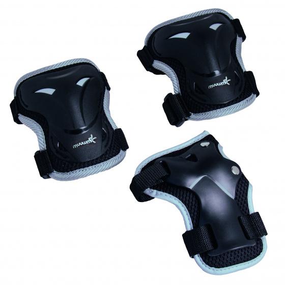 Muuwmi skate beschermset zwart 6-delig maat XS