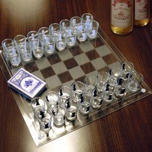 Shotglass Chess Set