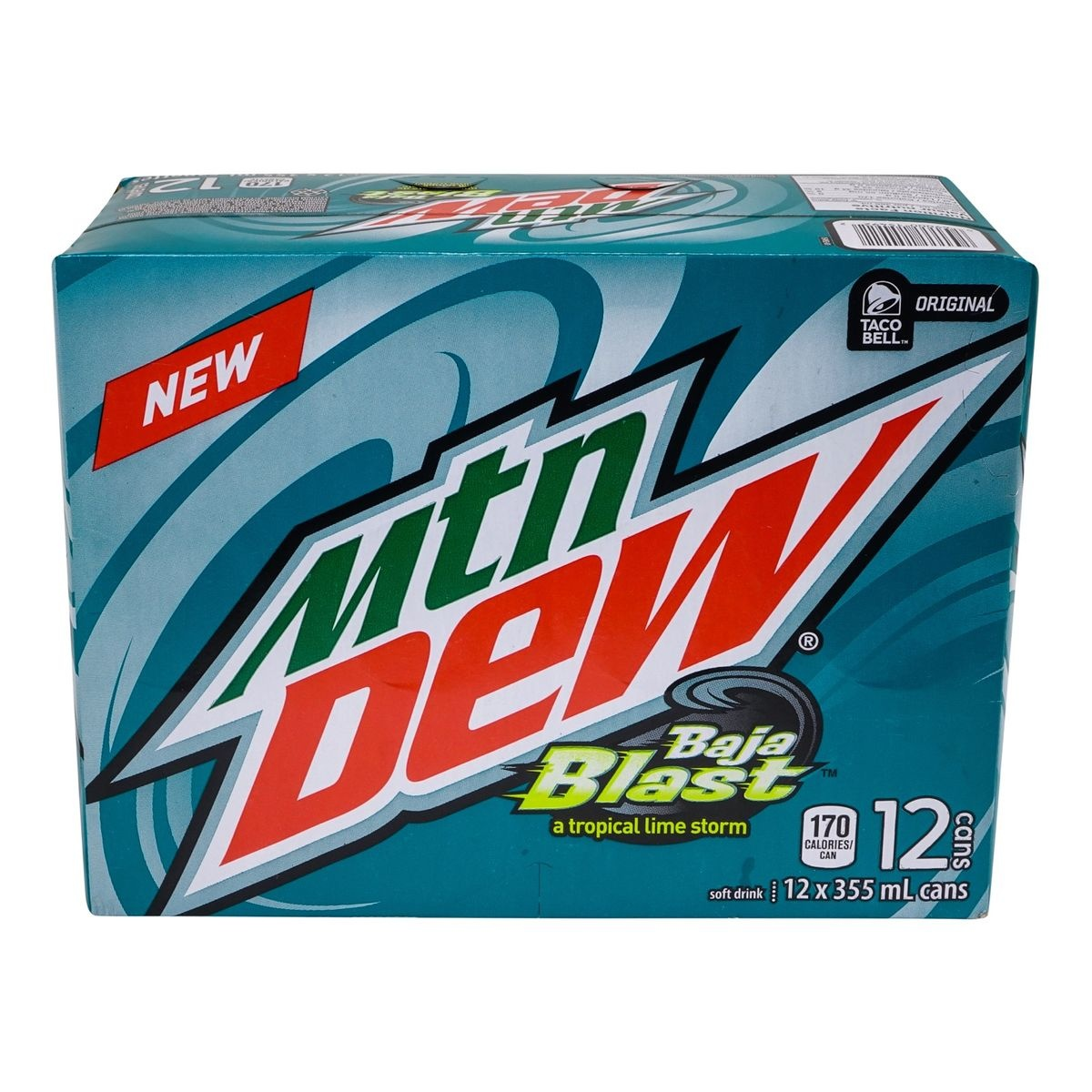 Mountain Dew Mountain Dew - Baja Blast Limited Edition 12-Pack