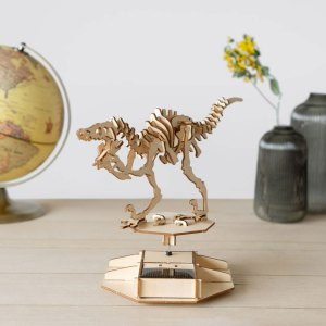 3D Puzzel Op Zonne-energie - Dinosaurus - Balvi