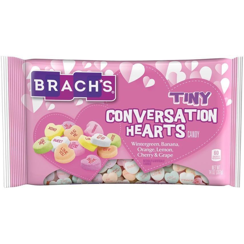 Brach's Brach's - Tiny Conversation Hearts Candy 397 Gram