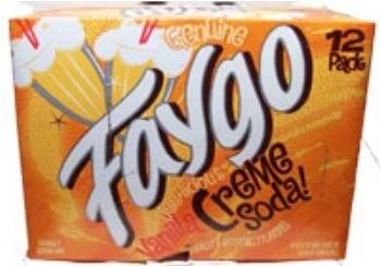 Faygo - Creme Soda 355ml 12 Blikjes