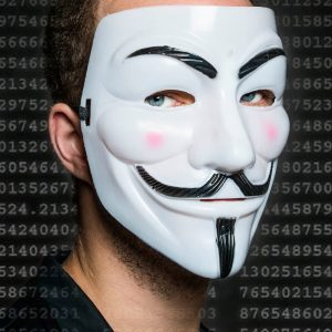 Guy Fawkes Masker - Nutcrackers